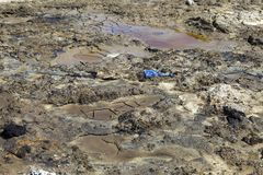 Oil pollution Royalty Free Stock Photography