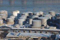 Oil Port Stock Photo