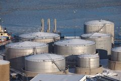 Oil Port Stock Images