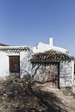 Oil press house in Spain royalty free stock images