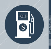 Oil Price Benchmark Station Stock Images