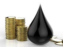 Oil price concept Stock Photo