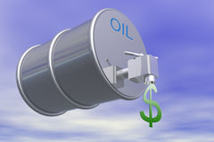 Oil Price2 Royalty Free Stock Photos