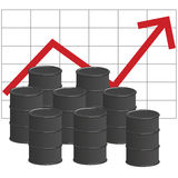 Oil prices Stock Photo