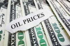 Oil Prices Royalty Free Stock Photos