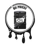 Oil prices Royalty Free Stock Photography