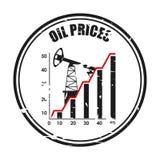 Oil prices Stock Image