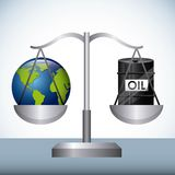 Oil prices Royalty Free Stock Photo