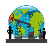 Oil prices Stock Photography
