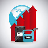 Oil prices Stock Images