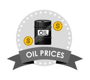 Oil prices design Stock Photography