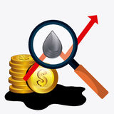 Oil prices industry Stock Photography