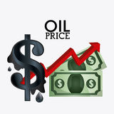 Oil prices industry Royalty Free Stock Photography