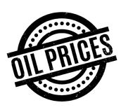 Oil Prices rubber stamp Stock Image