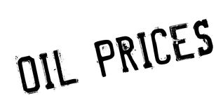 Oil Prices rubber stamp Stock Photography