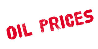 Oil Prices rubber stamp Royalty Free Stock Photo