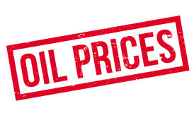 Oil Prices rubber stamp Royalty Free Stock Photography