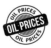 Oil Prices rubber stamp Royalty Free Stock Images
