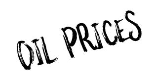 Oil Prices rubber stamp Stock Photo