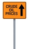 Oil Prices Up Royalty Free Stock Image