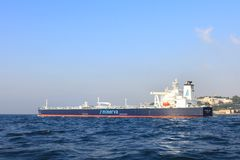 Oil Products Tanker Royalty Free Stock Photos