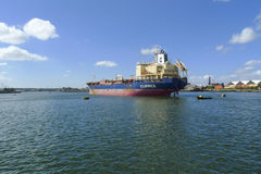 Oil products tanker Stock Image