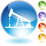Oil Pump. An image of an oil pump Stock Image
