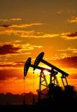 Oil pump stock photos