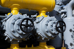 Oil pump Stock Photo