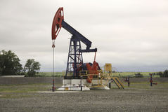 Oil pump Stock Photography