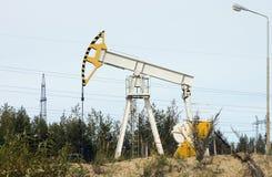 Oil pump Royalty Free Stock Photos