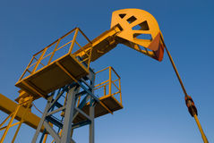Oil Pump. Jack or oil industy Royalty Free Stock Photos