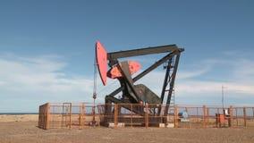 Oil pump stock video