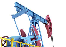 Oil pump close-up Stock Images
