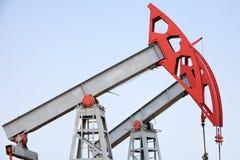 Oil pump closeup Stock Photo