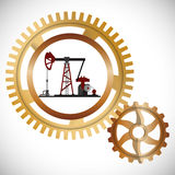 Oil Pump design Stock Photography