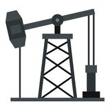 Oil pump icon isolated Stock Photo