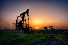 The oil pump Royalty Free Stock Photography