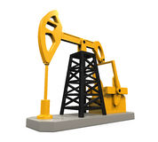 Oil Pump Isolated Stock Images