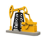 Oil Pump Isolated Royalty Free Stock Image