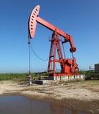 Oil Pump Jack Stock Photography
