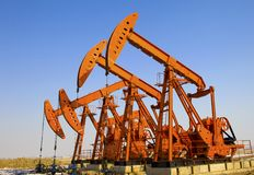 Oil Pump Jack Stock Images