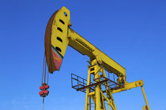 Oil Pump Jack Royalty Free Stock Photo