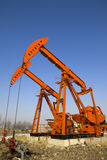 Oil Pump Jack Stock Photo