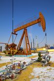 Oil Pump Jack Stock Photography