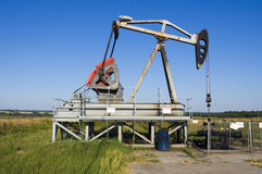 Oil Pump Jack. Royalty Free Stock Photography