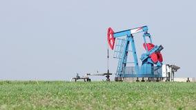 Oil pump jack stock footage