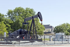 Oil Pump Jack, Oil Industry Equipment. Royalty Free Stock Photos