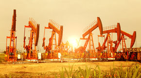 Oil Pump Jack Stock Photos