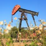 Oil Pump Jack (Sucker Rod Beam) Stock Image